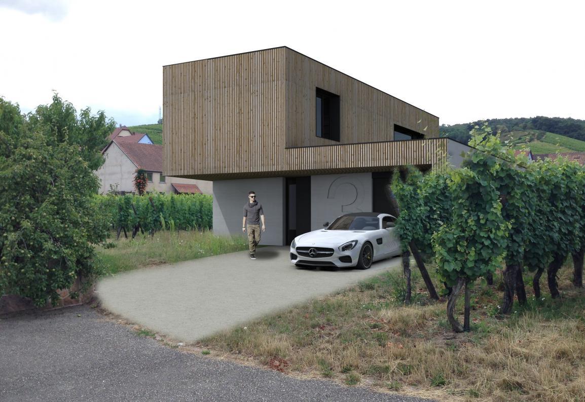 Agence Benoît Herrmann Architecte - Ribeauvillé - 68-Haut-Rhin